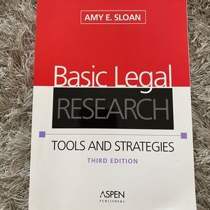 Book: Basic Legal Research